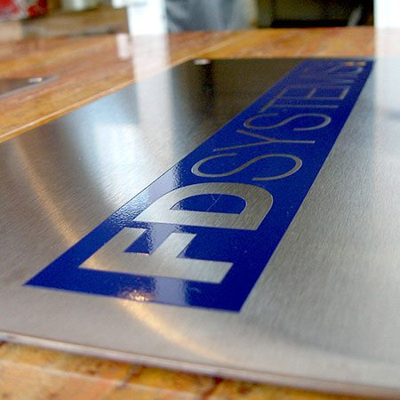 Etched and engraved signs Surrey