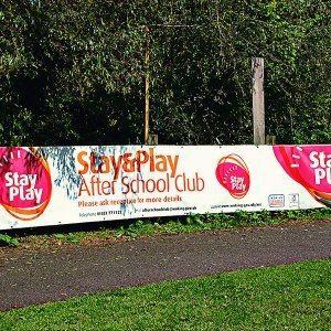 PVC Banners, Surrey, Hampshire, Berkshire.