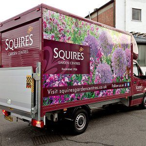 Full wrap van graphics Surrey Berkshire Hampshire