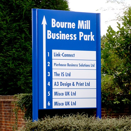Bourne Mill sign Guildford
