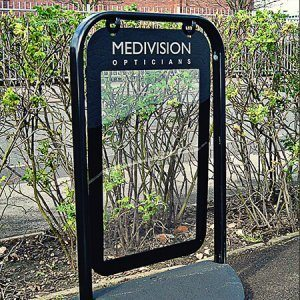 pavement-sign-with-poster-holder