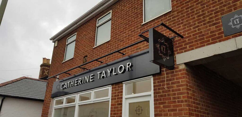 Salon Sign
